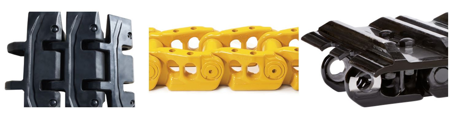 řetězy na bagr a dozer intertractor