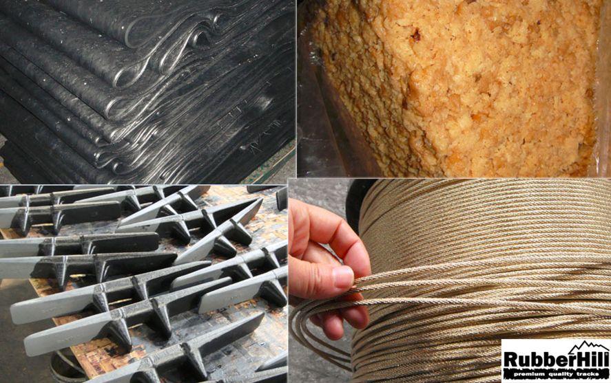 Výrobní proces gumových pásů RubberHill 2